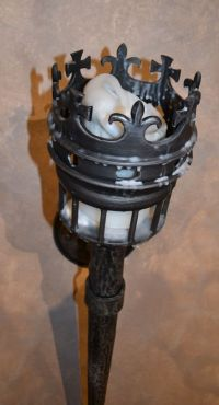 Custom Designed Lighting | Wrought Iron Wall Sconce ...