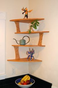 20 Cool Corner Shelf Designs For Your Home | Wooden ...