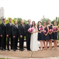 pink navy grey groomsmen] | Navy Bridesmaid Dresses | Navy ...