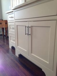 Restoration Hardware Lugarno Pulls, foot detail