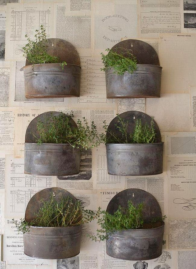 Insanely Cool Herb Garden Container Ideas Gardens Herbs Garden
