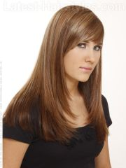 spice long hair with sweet layers