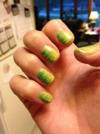 Green Bay Packer nails | Uas Decoradas | Pinterest | La ...