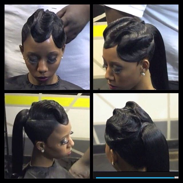 Black 27 Piece Hairstyle
