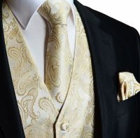 Tuxedo Vests, Wedding Vests, Mens Vests, Gold, Champagne ...