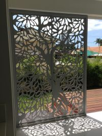 Screen Art Privacy Screens - residential entrance. http ...