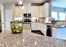 Ryan Homes Build - Fox Chapel Model Kitchen With Azul