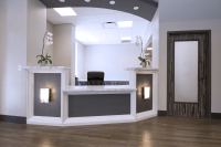 dental office glass doors
