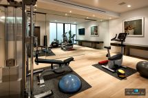 Luxury Basement Home Gym