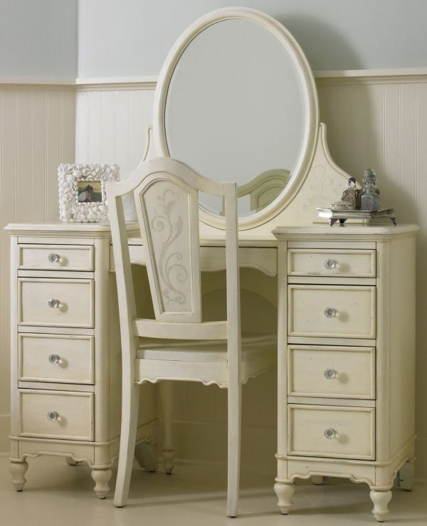 Cheap Vanity Set with Mirror