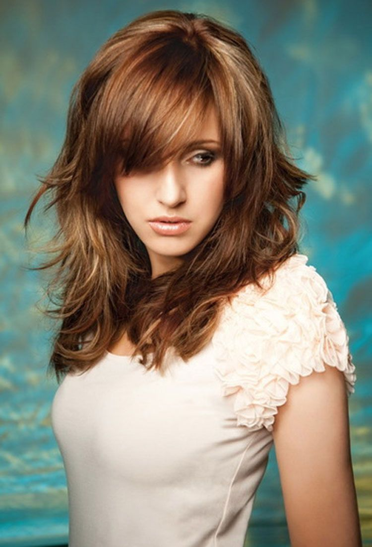 Long Hairstyles With Layers And Bangs Popular Long Hairstyles With Layers For  01Layer