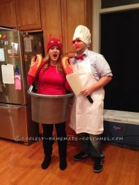 Super-Easy Homemade Costume for Couples: Swedish Chef and ...