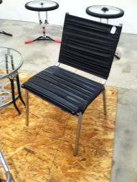 This chair is made out of Bicycle Tire Tubes! by The ...