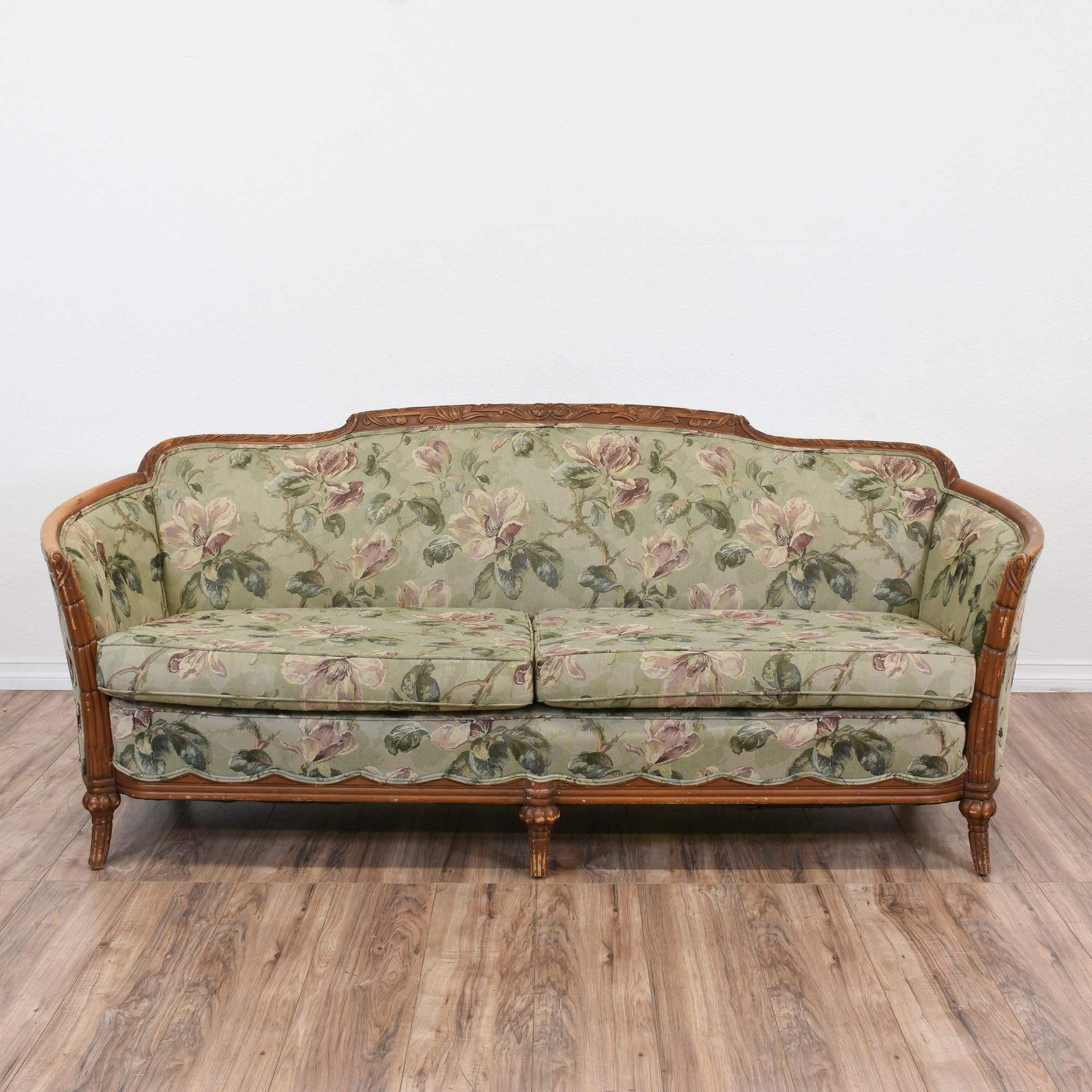 fabric sofa sets with wood trim papasan chair this is upholstered in a durable sage green
