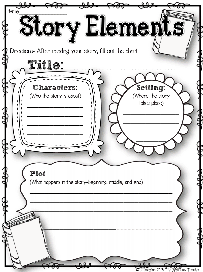 worksheet. Story Elements Worksheet. Worksheet Fun