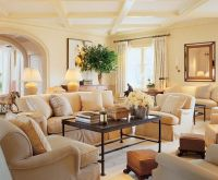 Neutral Colors for Living Room   beautiful monochromatic ...