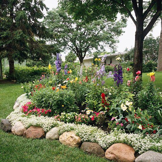 Garden Bed Edging Ideas Gardens Flower And Landscaping Edging