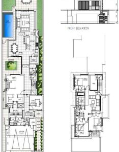 Final narrow two storey design floor plans also best house images on pinterest rh