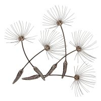Contemporary Metal Wall Art - Dandelion Seeds: Amazon.co ...