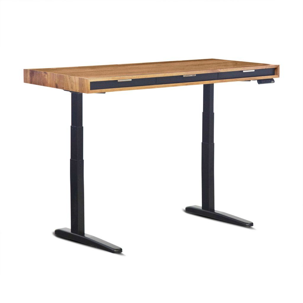 The Evolve Slim  SitStand Desk  Featuring the Jarvis