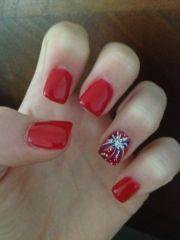 firework nail art ideas