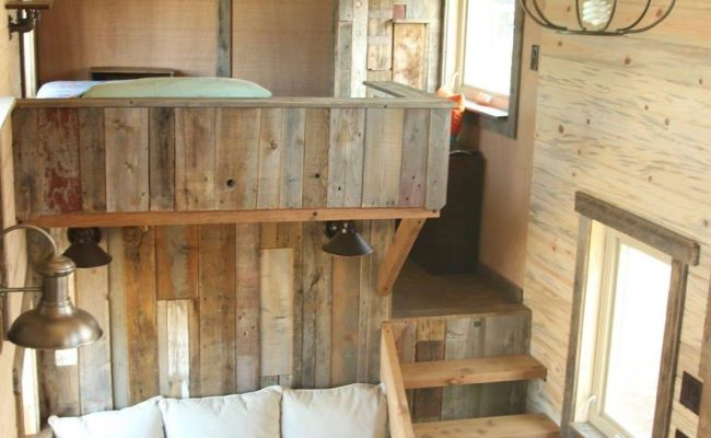 A Beautiful Custom Rustic Home From Simblissity Tiny Homes