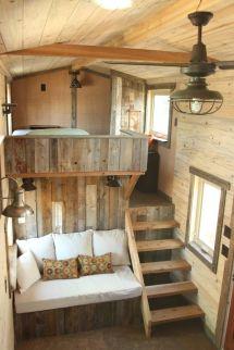 Rustic Tiny House Interior Design