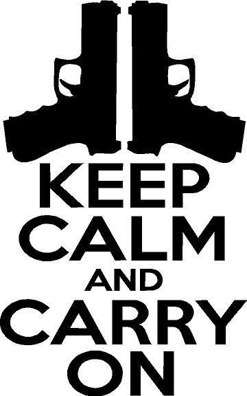 And Glock Keep Shoot Calm
