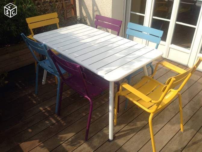 Table Jardin Fermob : Table Fermob Luxembourg Cour Pinterest Salon ...