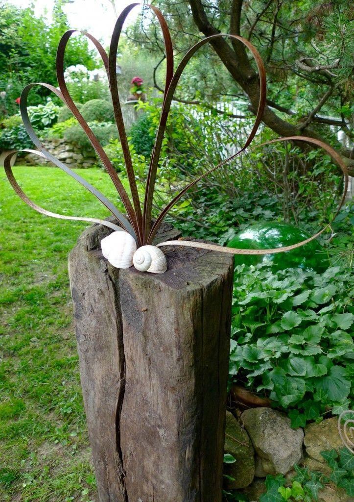Gartendeko Aus Holz Und Metall | Möbelideen