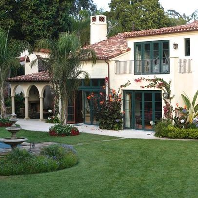 Los Angeles Mediterranean Home Stucco House Design Ideas Pictures