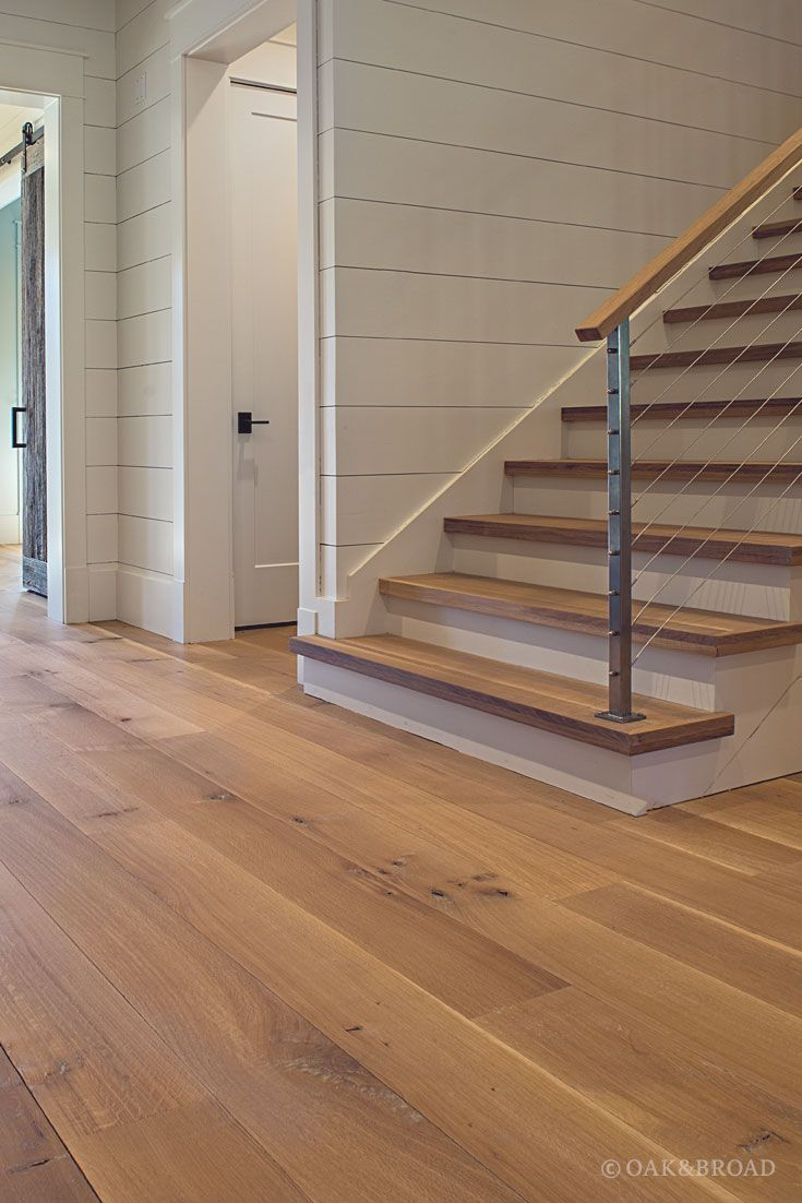 Wide Plank White Oak Flooring in Nashville, TN Modern