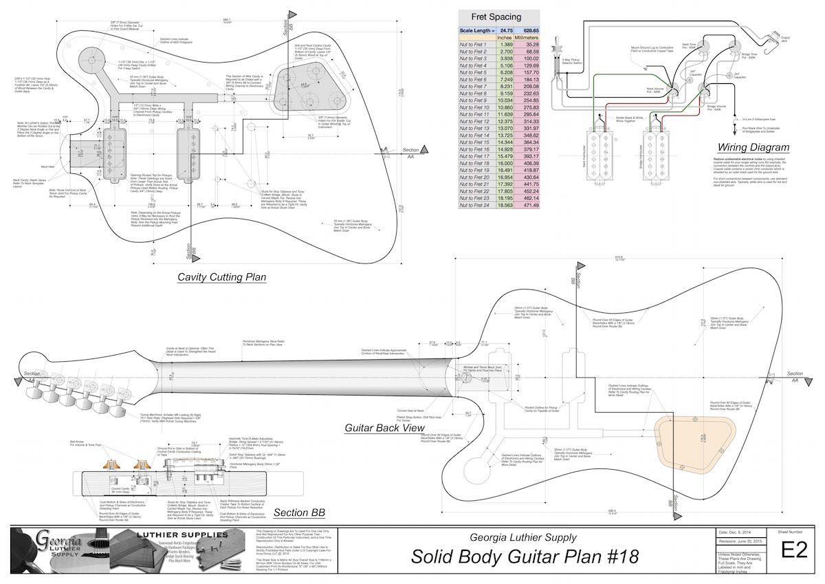 Fender Telecaster Parts Diagram