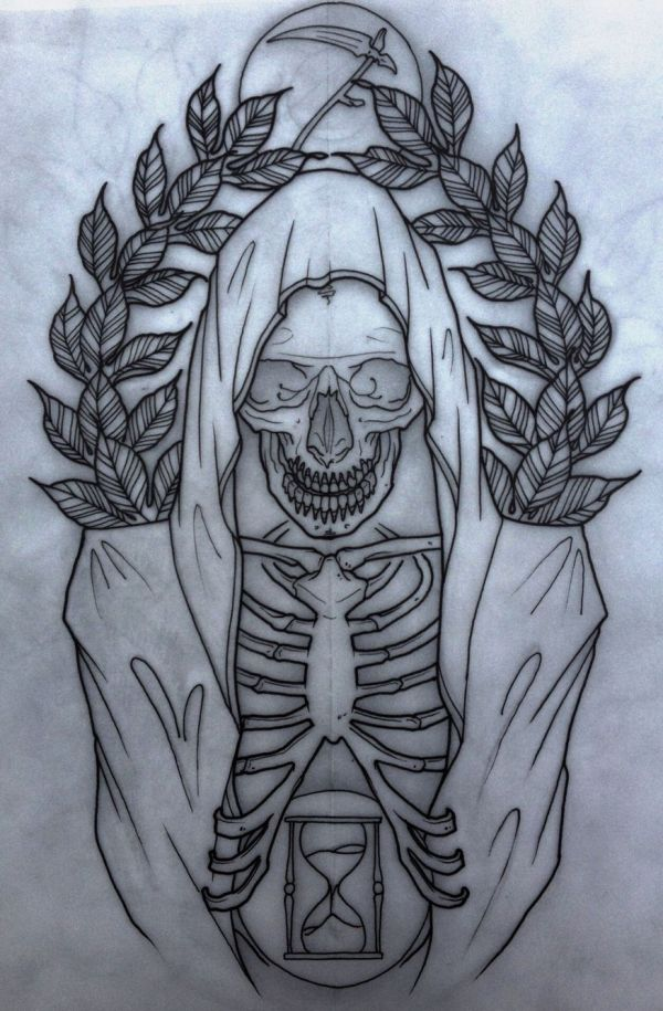 Grim Reaper. Neo Traditional Reaper