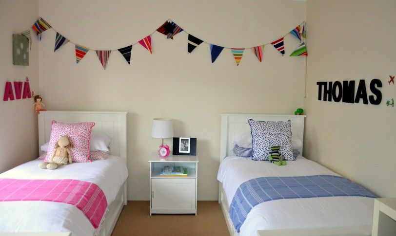 Pink Shared Kids Bedroom Ideas Style Shared Bedroom Stuff