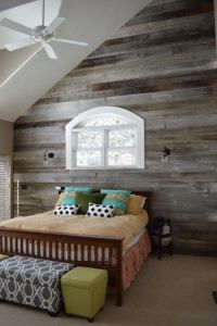 Reclaimed wood decorating ideas bedroom rustic with barn ...