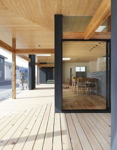 Cool japanese home interior design also agui house by alts office architecture pinterest modern rh