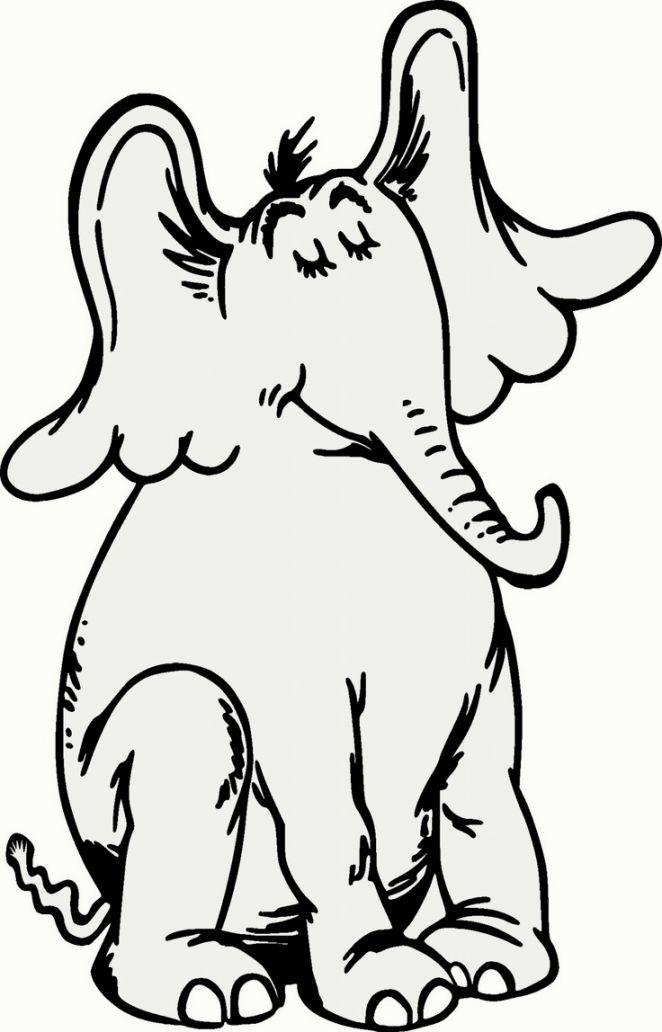 Coloring Horton Hears A Who Picture