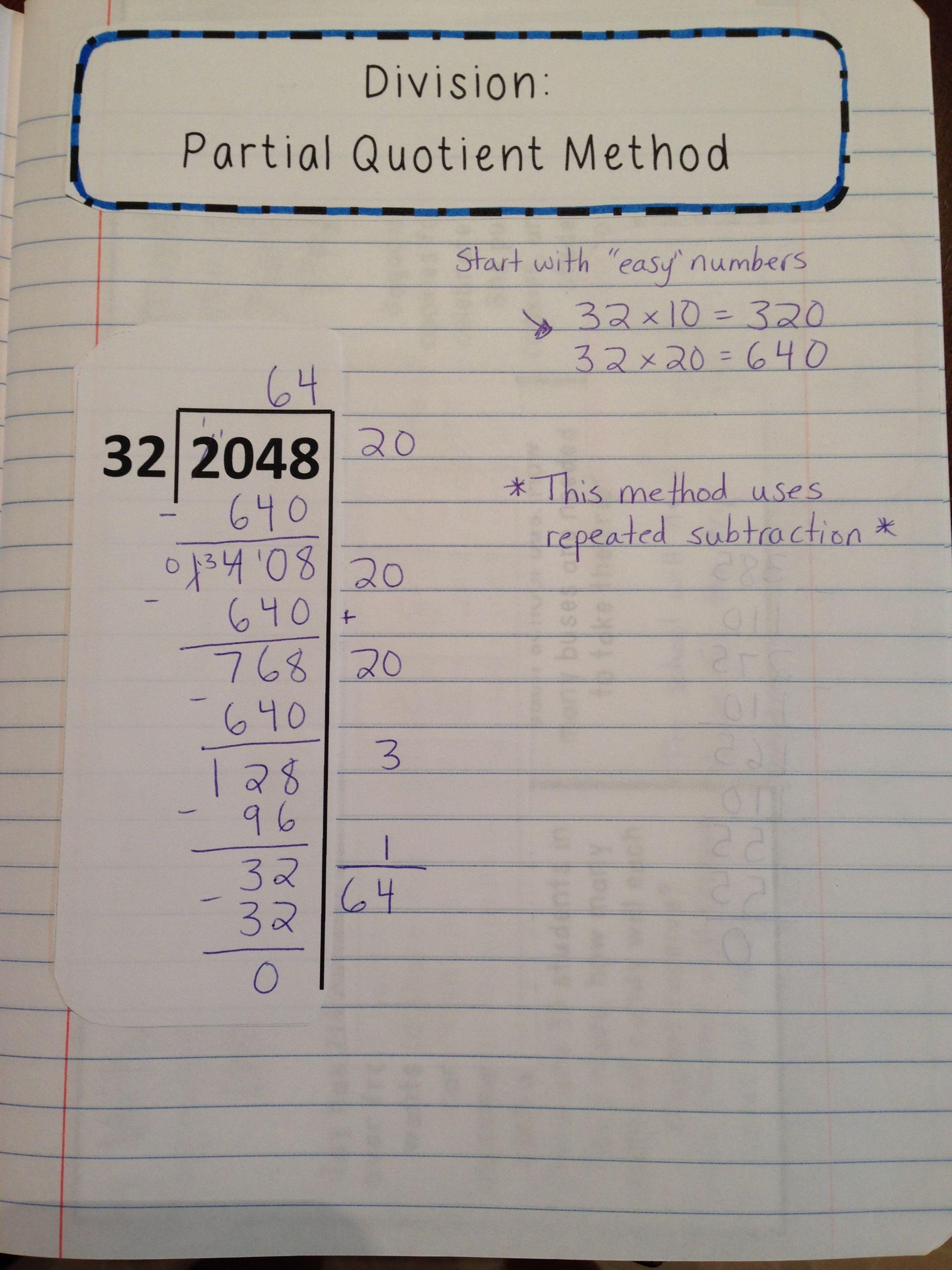Division Lesson With Interactive Notes Word Problems And Assessment