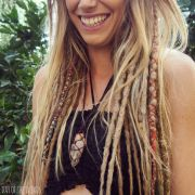partial dread hairstyles fade