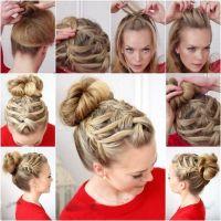 step by step short hair braids pictures hair tutorials ...