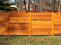 Getting Horizontal Wood Fence for Your House,Horizontal ...