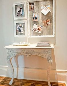 Help her get organized this holiday season with easy and affordable diy message center that also home bloggers  crafty ways to save radiators magnets messages rh pinterest