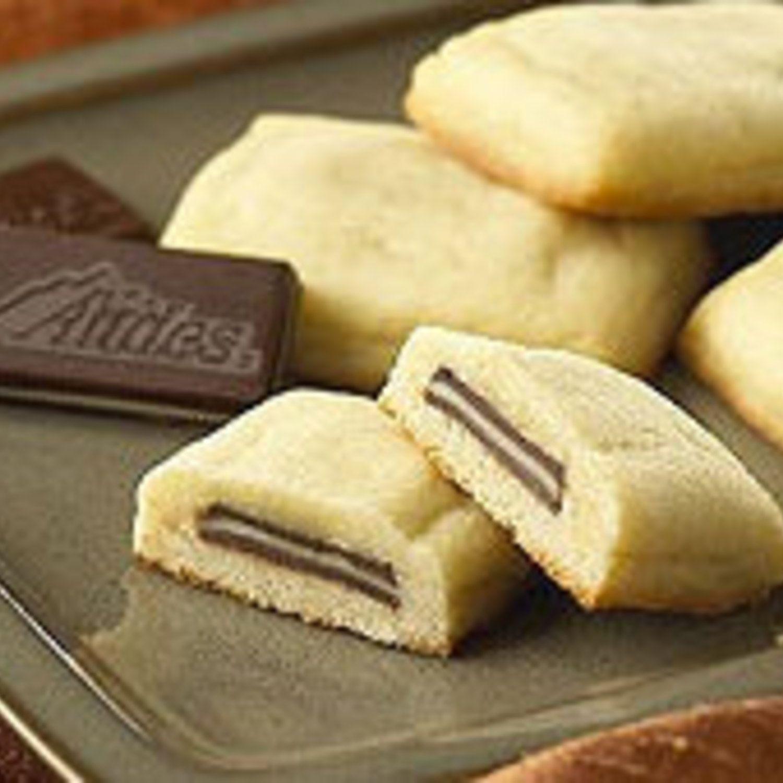 Andes Mint Pillow Cookies  Recipe  Mint pillow Pillows