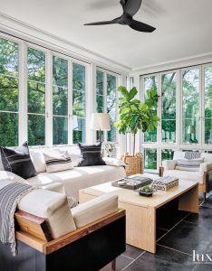 Hunter created satisfying symmetry in the living room courtesy of  pair rudin also rh za pinterest