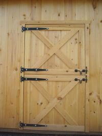 Dutch Barn Doors | ... How to Build Dutch Door page to ...