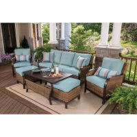 Berkley Jensen Nantucket 6-Piece Wicker Patio Set - BJs ...