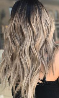Best Hair Color Ideas 2017 / 2018 rooty blonde highlights ...