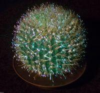 Vintage Retro Fibre Optic Cactus Lamp Light | Fiber optic ...