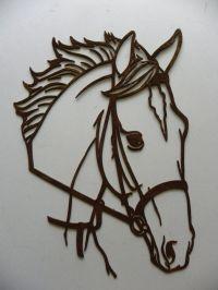 Amazon.com: Horse Head Metal Wall Art Country Rustic Home ...